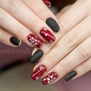 świąteczne paznokcie bydgoszcz