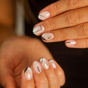 minimalistyczne paznokcie bydgoszcz