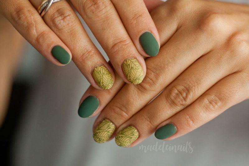 paznokcie hybrydowe bydgoszcz listki jesien